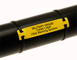 Military Specification Cable Label