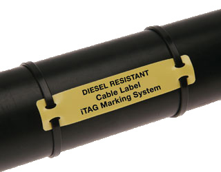 Itag Diesel Resistant Cable Label Nf F00 608 Siegrist Orel
